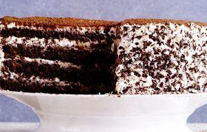Tort tiramisu cu ciocolată
