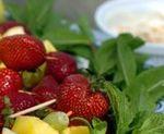Aperitiv cu fructe
