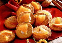 Biscuiti cu portocale confiate