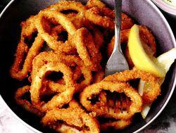 Inele de calamar cu sare şi piper