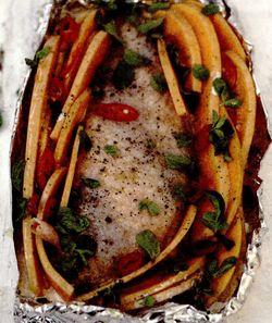 Piept de pui la cuptor cu dovleac cremos si ardei iute