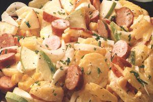 Salată colorată de cartofi
