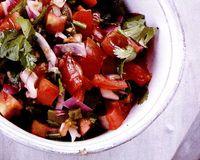 Salată mexicană (Pico de gallo)