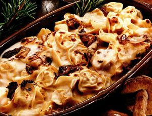 Retete culinare: Ciuperci gratinate