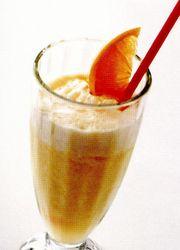 Shake de portocale rosii si papaya