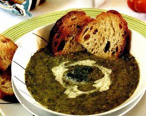 Supa crema de salata
