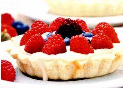 Tartelete cu fructe de padure