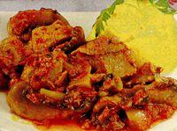 Tocanita de carne cu ciuperci