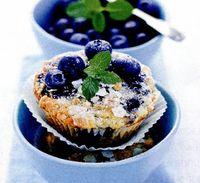 Retete culinare: Briose cu afine