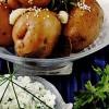 Cartofi_cu_usturoi_si_brânza_cu_verdeturi