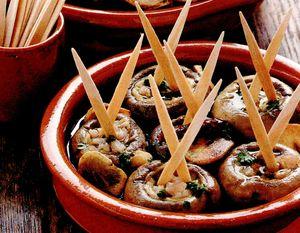 Ciuperci cu creveti