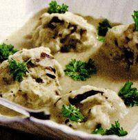 Ciupercute cu sos alb