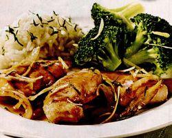 Curcan cu lămâie si broccoli