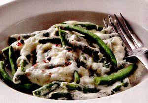 Retete culinare: Fasole verde cu smântână