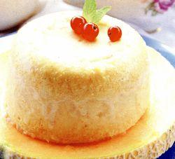 Inghetata de pepene galben cu biscuiti
