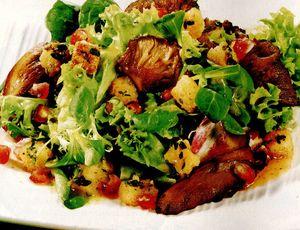 Salată cu pleurotus