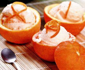 Sorbet de portocale
