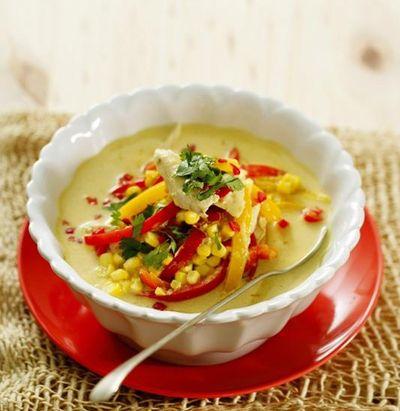 Supa thailandeza de pui