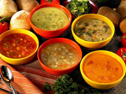 Supă de salată verde cu iaurt