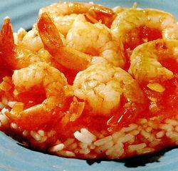 Retete culinare: Creveti cu orez