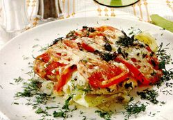 Ghiveci de legume si carne de pui
