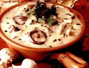 Papricas cu ciuperci