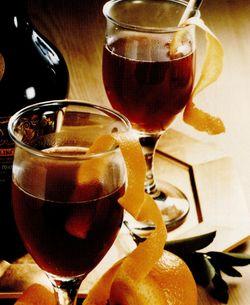 Punci de ceai cu vin rosu