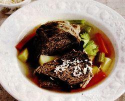 Rasol de vitel in supa
