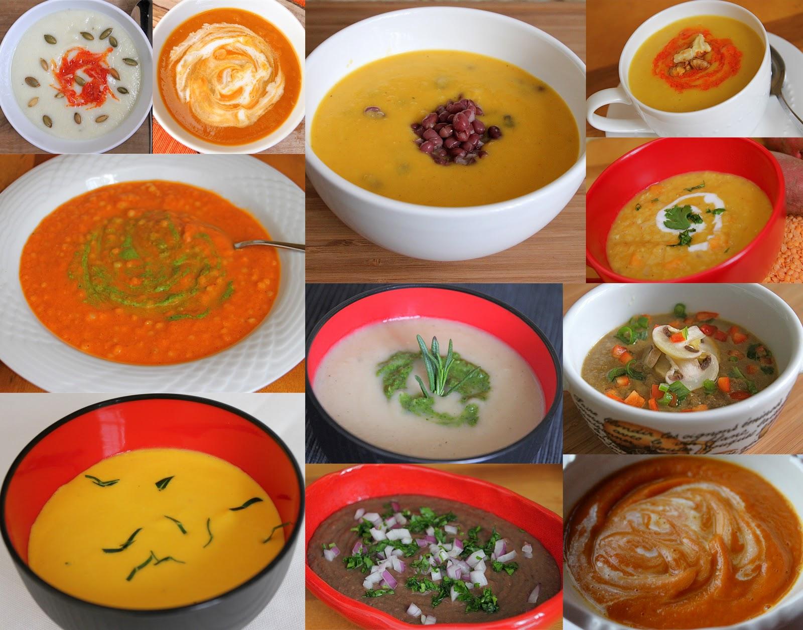 Retete de post: Supă de ciuperci