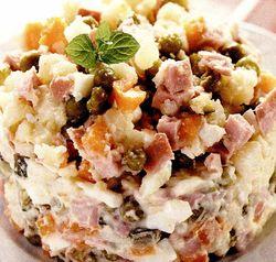 Retete culinare: Salată rusească