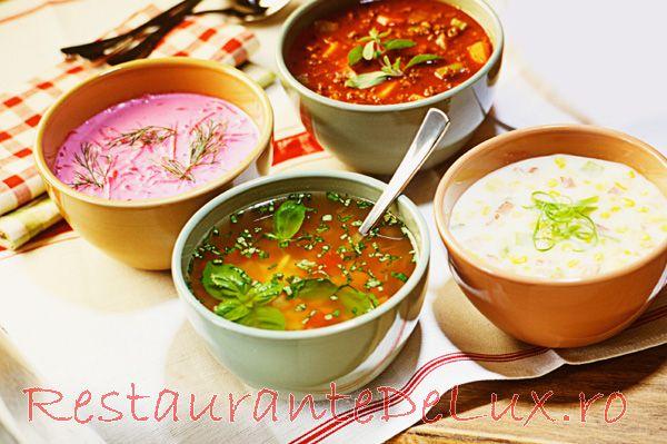 Supa de gulii cu orez