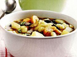 Supa de cartofi cu ciuperci