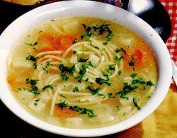 Supa de legume cu paste