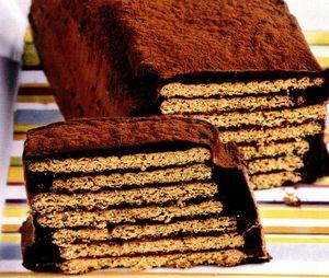 Tort savuros de biscuiţi