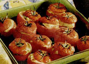 Rosii umplute cu orez si morcov