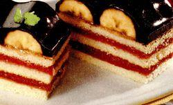 Tort delicios cu banane