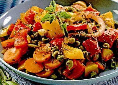 Mancare de morcovi cu tarhon