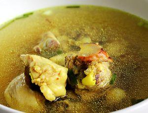Supa de gaina cu orez