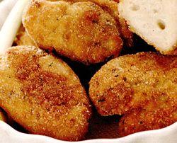 Crochete de cartofi cu cascaval