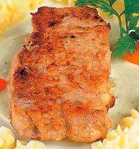 Cotlete de porc pane