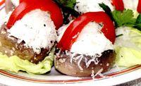 Ciuperci_umplute_cu_urda_si_ardei gras
