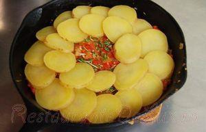 Cartofi cu rosii