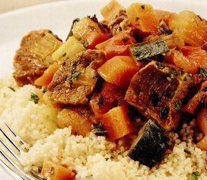 Tocanita marocana cu dovleac si carne de vita