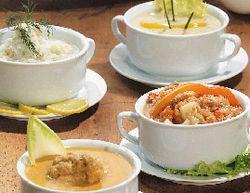 Mazariche pentru supa cu lapte si ou