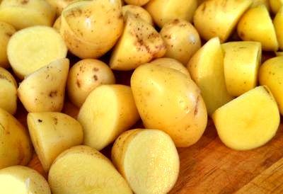 Salata de cartofi cu gulii