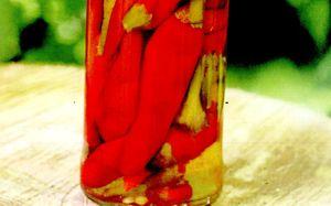 Salata de ardei copti in otet
