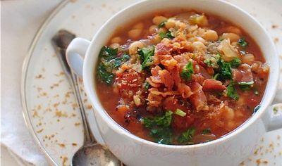 Supa ungureasca de fasole cu orz