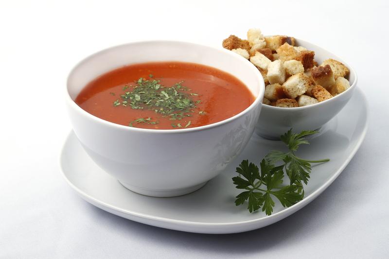Supa din maruntaie de pasare cu ciuperci