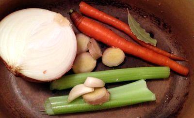 Paste cu legume prajite