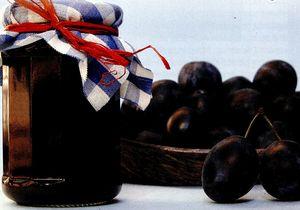 Gem de prune cu scortisoara